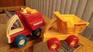 Vintage Buddy L 1986 Pumper Dumper Jouets Enfants