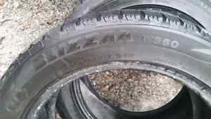 Winter tires 215/55/17