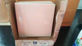 NEW: TILES - 9 CERAMIC WHITE Wall TILES
