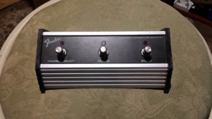 Fender channel select switch