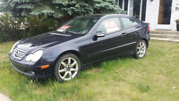 REDUCED! 2003 Mercedes-Benz Coupe, great condition, winter tires