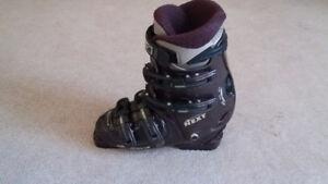 Nordica Downhill Ski Boots Size 24.5cm Purple/Black