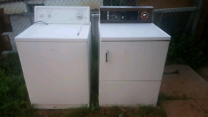 Old washer and dryer - they work