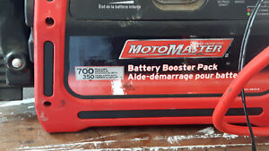 Moto master  booster pack