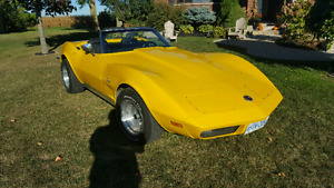 73 Corvette Ragtop with Hardtop
