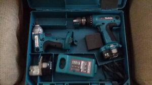 KIT MAKITA DRILL ET IMPACT DRIVER 1/4