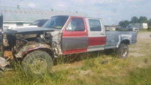 93 Ford F350 crew cab long bed diesel