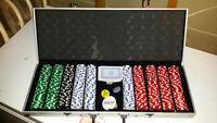 Large Poker Set with case