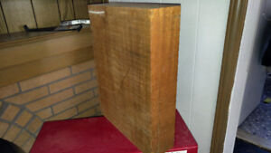 Big ass Blocks of Honduras Mahogany luthier supply