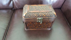 Beautiful Wicker Storage Box
