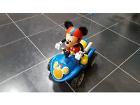 Remote controlled Mickey Mouse on Quad Bike - excellent condition *** PRICE REDUCED ***