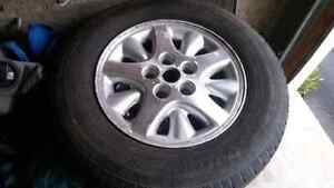 All season tires and rims p215/70r15 Cambridge Kitchener Area image 10