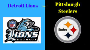 Pittsburgh Steelers @ Detroit Lions