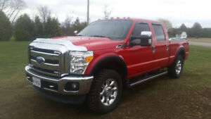 2011 Ford F250 Crew Cab Leather