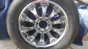 20 inch gmc wheels with new rubber