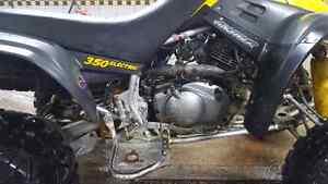 Aubaine Vtt Yamaha warrior 350 4 temps reculon tres propre avoir Saguenay Saguenay-Lac-Saint-Jean image 4