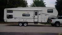 2002 Rockwood Fifth Wheel With Bunks