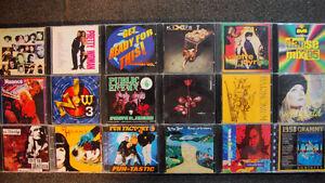 Plusieurs CD de musique des années 1985 à 1990