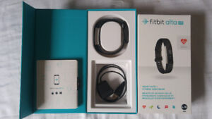 Practically NEW Fitbit Alta HR