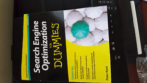 Search engine optimization for dummies book