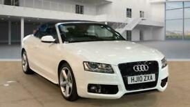 image for 2010 Audi A5 2.0 TFSI S LINE 2d 208 BHP Convertible Petrol Automatic