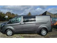 FORD CUSTOM 320 L2H1 185PS AUTO LIMITED LWB DCIV Double Cab Van Crew