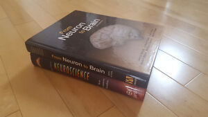 Neuroscience Textbooks, see inside for details