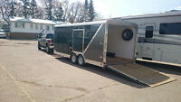 New 20-ft Enclosed Trailer For Rent!