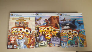 Zoo Tycoon 2 with all available expansion packs
