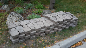 Free walkway interlock pavers