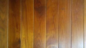 Plancher en bois franc torréfié rustique huilé (130 pi.ca.)