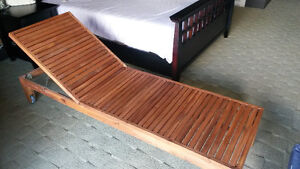 Sun Lounge Chair Bed
