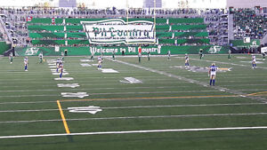 2 tickets for Riders August 13th game