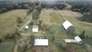 Waterfront - 464 acre parcel - Farmland and Woodland
