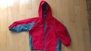 Columbia's light jacket for 4-5yr old