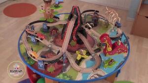 Dinosaur Train table and tracks