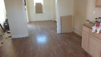 Cabinetry,flooring,trim and tile