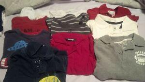 size 4T boys long sleeve shirts
