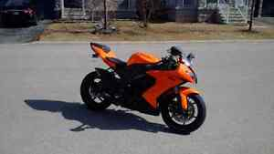 Kawasaki Ninja ZX10r for sale 2008 25k km Orange pearl , very ra