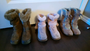 Toddler boots size 9&10