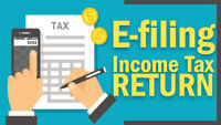 File your Income Tax before April 30, 2019