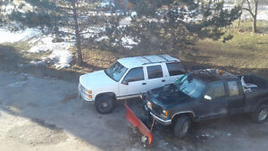 1999 Tahoe 5.7 for trade for 4x4 bike