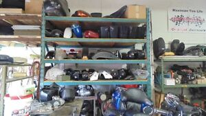 HUGE SELECTION OF USED PARTS FOR HARLEY AND ENGLISH MOTORCYCLES London Ontario image 1