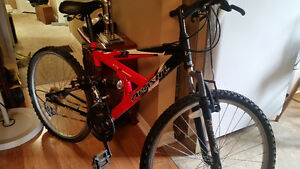 21 spd maletti mountain bike excellent cond