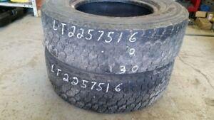 Pair of 2 Goodyear Wrangler ProGrade LT225/75R16 tires (50% trea
