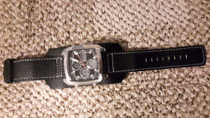 Mens Leather Cuff Watch - New
