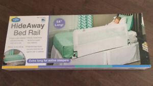Brand New Hide-Away Extra Long Portable Bed Rail by Regalo