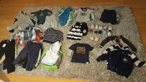 HUGE lot of baby/toddler clothing accessories and toys etc.