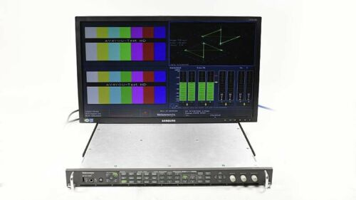 Tektronix WVR7200 HD/SD Waveform Rasterizer Multi Format Opt. AD LOUD WVR 7200