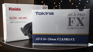 Tokina Wide Angle Lens w/ ND filter for Long Exposures!